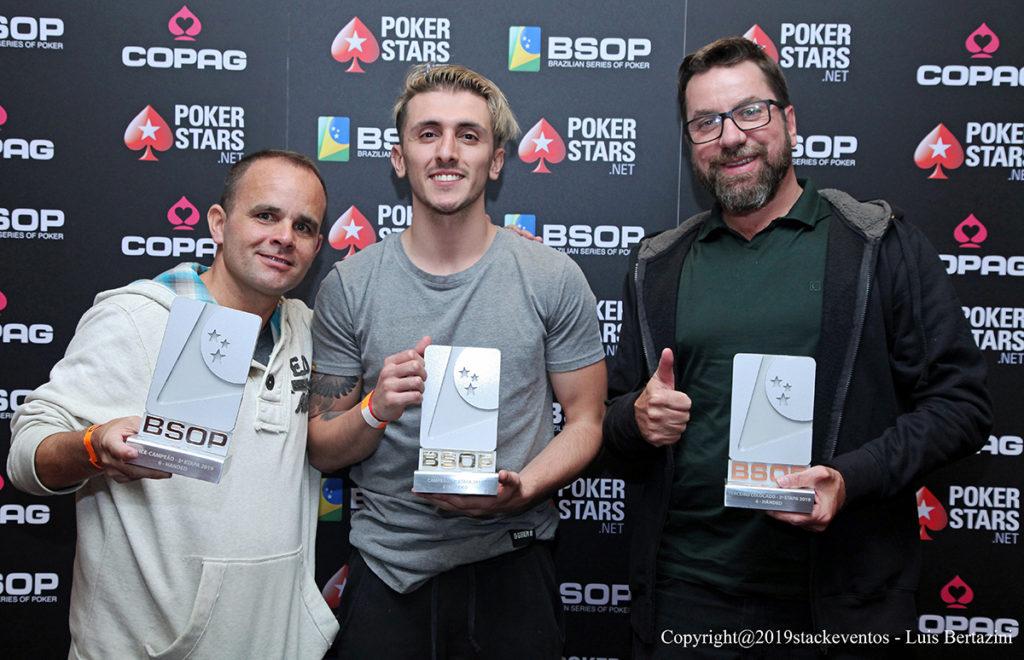Finalistas 6-Handed - BSOP São Paulo