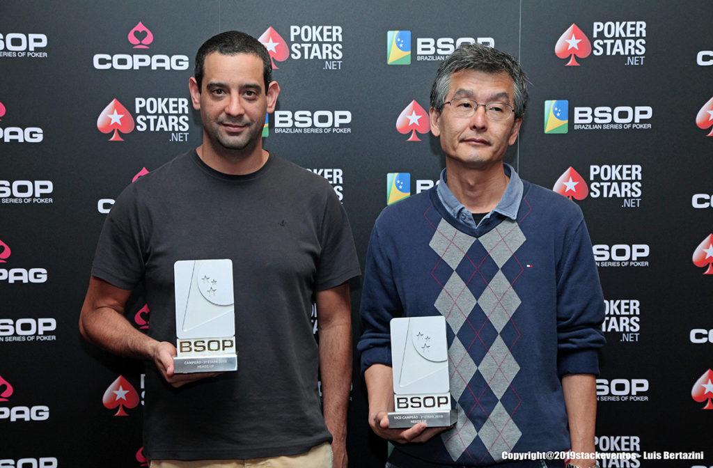 José Arenstein e Ricardo Nakamura - Heads-Up - BSOP São Paulo