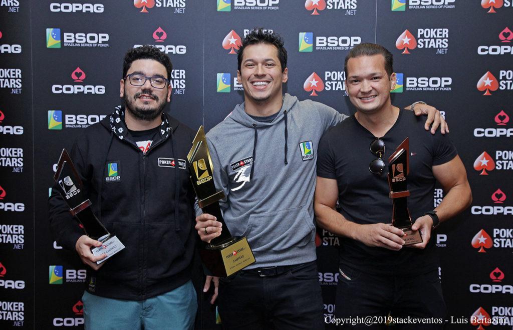 João Bauer, Pedro Henrique Outor e Willian Melo - BSOP São Paulo