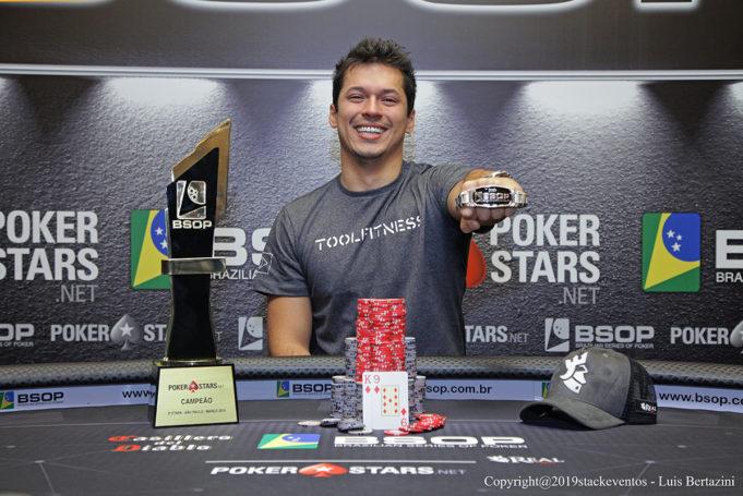 Pedro Henrique Outor - Campeão BSOP São Paulo