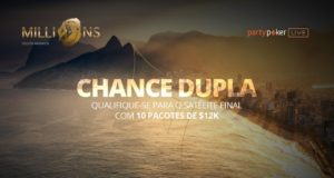 Chance Dupla no Millions South America