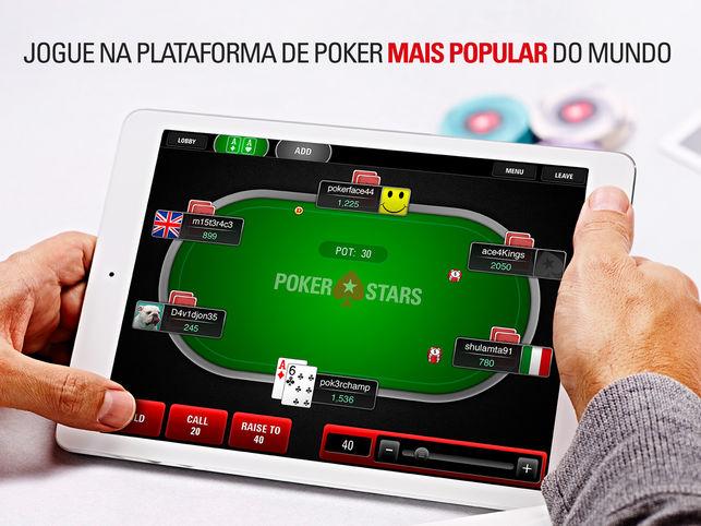 Novo aplicativo do PokerStars para iOS