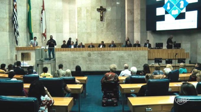 Homenagem aos Esportes da Mente - Câmara Municipal de São Paulo