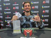 Marcelo Giordano - Campeão 6-Handed Knockout - BSOP São Paulo