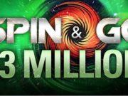 Spin & Go de US$ 3 milhões
