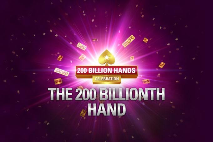 200 Bilhões de Mãos - PokerStars