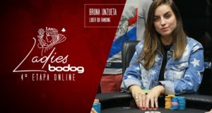 Bruna Unuzeta líder do ranking Ladies Bodog