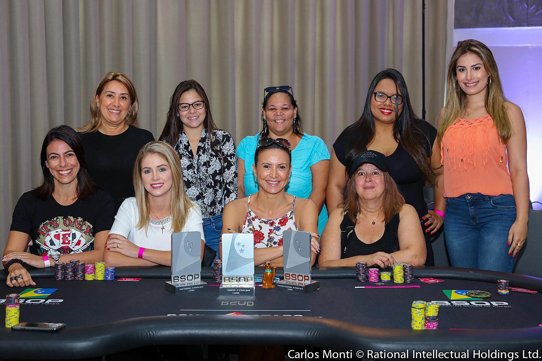 Mesa final - Ladies BSOP Salvador