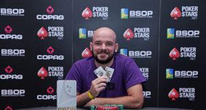 Gustavo Moura - Campeão 6-Handed Knockout - BSOP Salvador