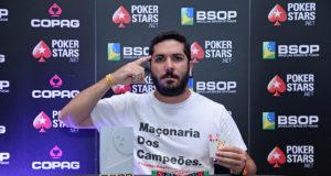 Luiz Cláudio Cunha - Campeão 1-Day High Roller - BSOP SalvadorLuiz Cláudio Cunha - Campeão 1-Day High Roller - BSOP Salvador