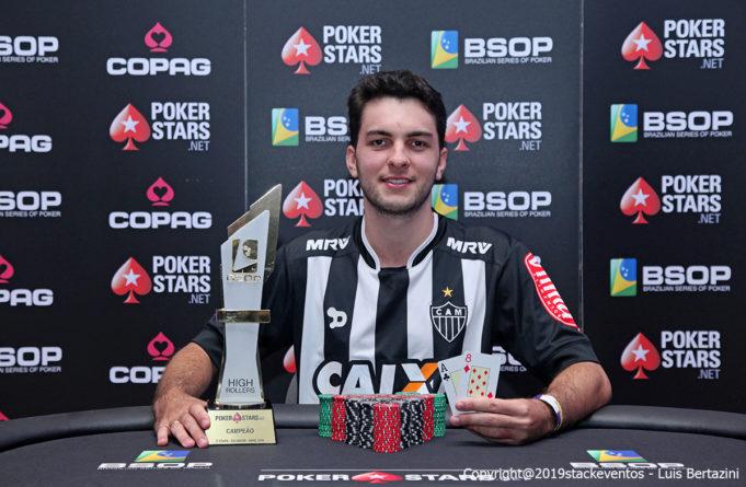 Luis Henrique Maciel - Campeão High Roller BSOP Salvador
