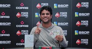 Felipe Beltrane - Campeão Pot Limit Omaha - BSOP Salvador