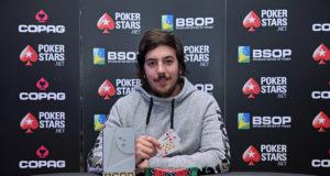 Martin Piñeiro - Campeão Start-Up BSOP Salvador