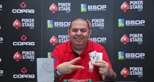 Leandro Ferreira - Campeão Win The Button - BSOP Salvador