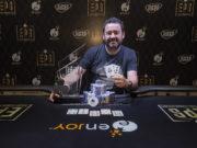 Leonel Otazo campeão do Main Event do Enjoy Poker Series Coquimbo