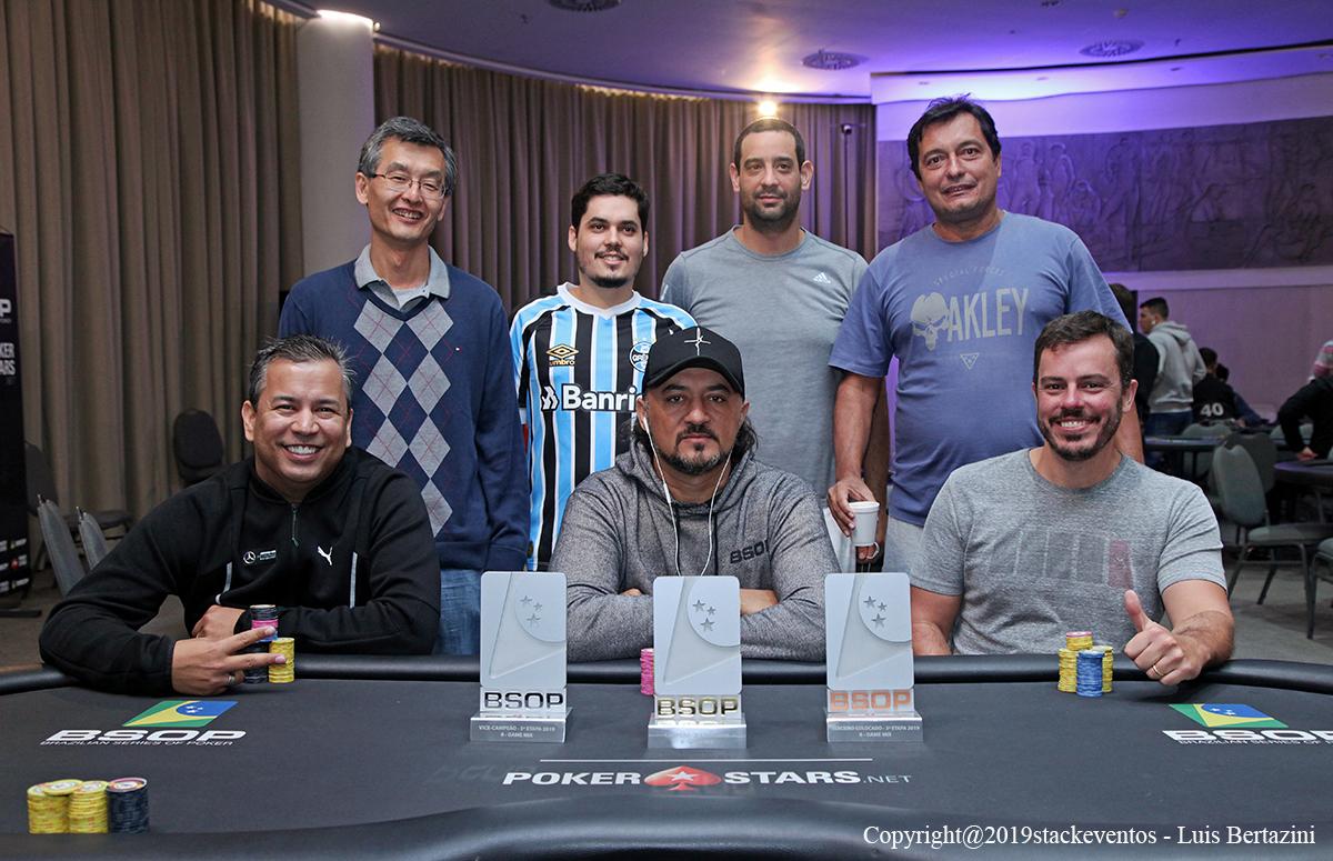 Mesa Final 8-Game - BSOP Salvador