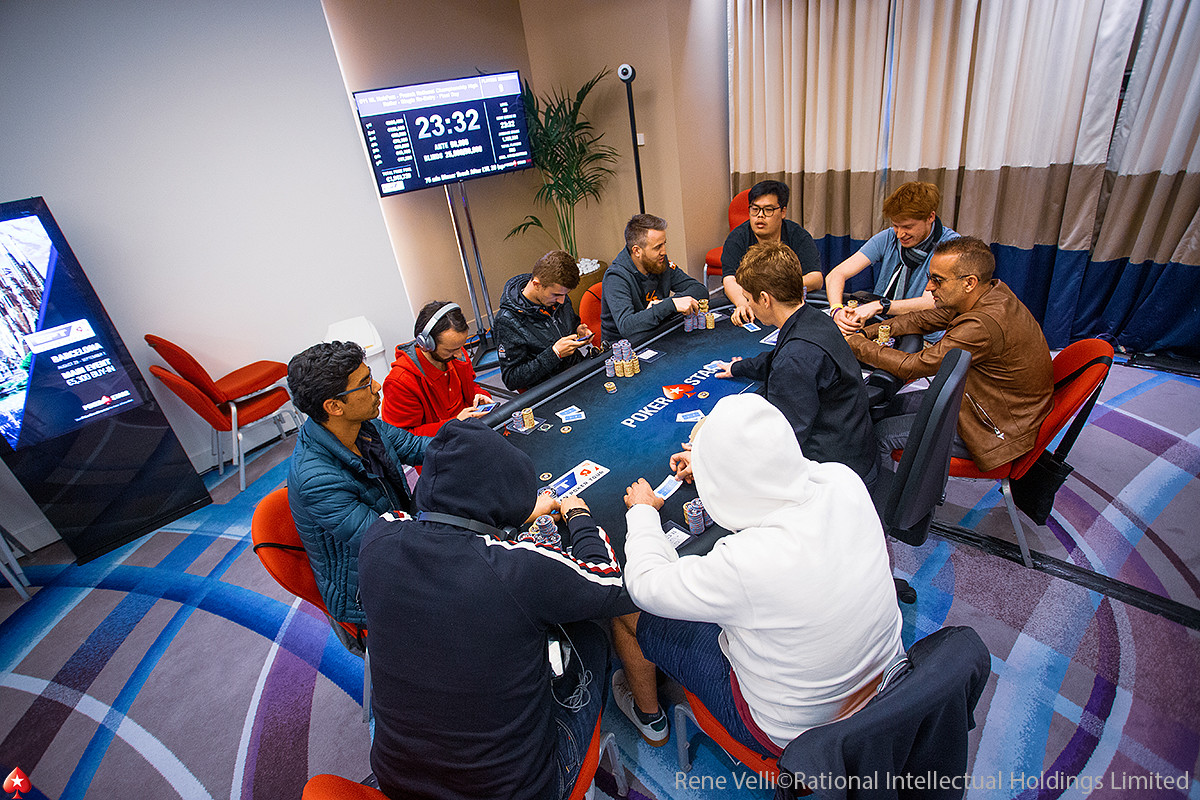 Mesa Final do French National Championship do EPT Monte Carlo