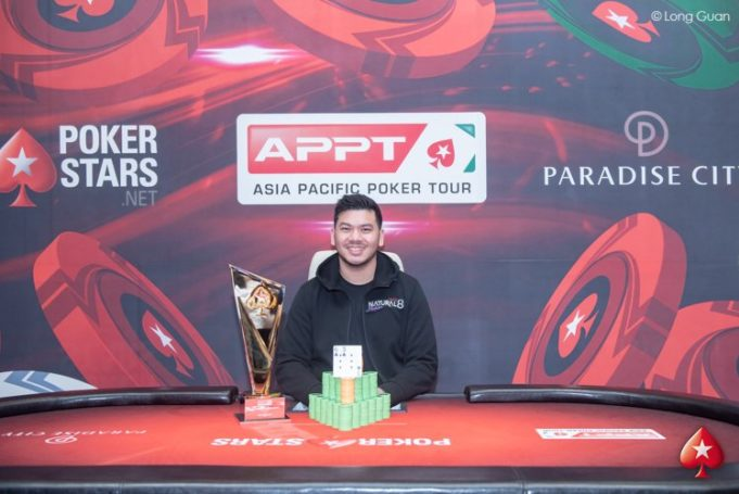 Michael Soyza campeão do Super High Roller do APPT Coreia do Sul