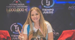 Milena Magrini no Aconcagua Million Madrid