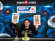 Sergio Aido campeão do Super High Roller do EPT Monte Carlo