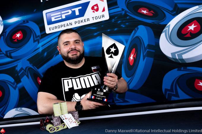 Stefano Schiano campeão do French National Championship do EPT Monte Carlo