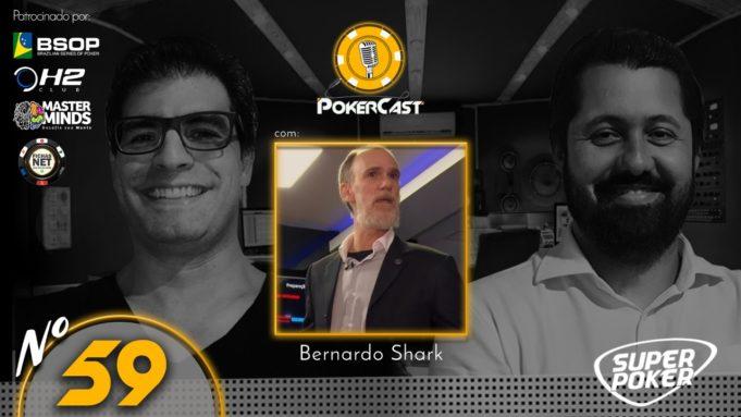 Marcos Bernardo é o convidado do 59º do Pokercast
