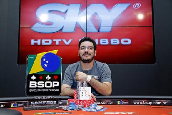 João Bauer - Campeão BSOP São Paulo 2015