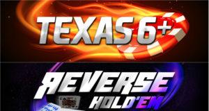 Texas 6+ e Reverse Hold'em - Brasil Poker Live