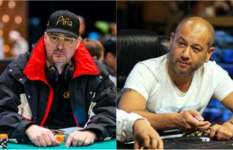 Phil Hellmuth e Rob Yong