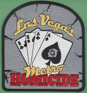 Insígnia - Departamento de Homícidio - Polícia Metropolitana de Las Vegas - A mão do homem morto