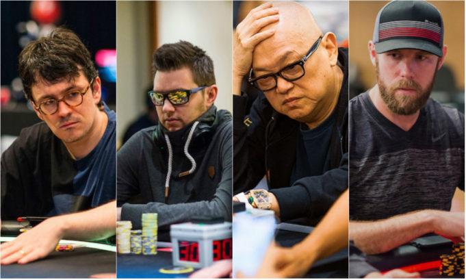 Isaac Haxton, Matthias Eibinger, Richard Yong e Seth Davies