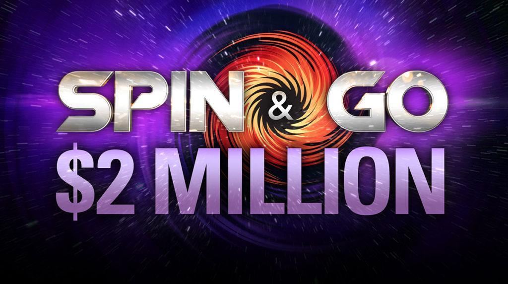 Spin & Go de US$ 2 milhões