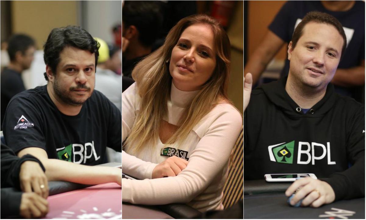Raul Oliveira, Milena Magrini e Bruno Foster - Embaixadores Brasil Poker Live