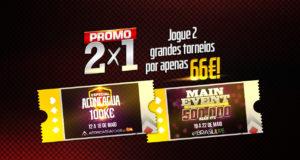 Promoção 2x1 Brasil Poker Live