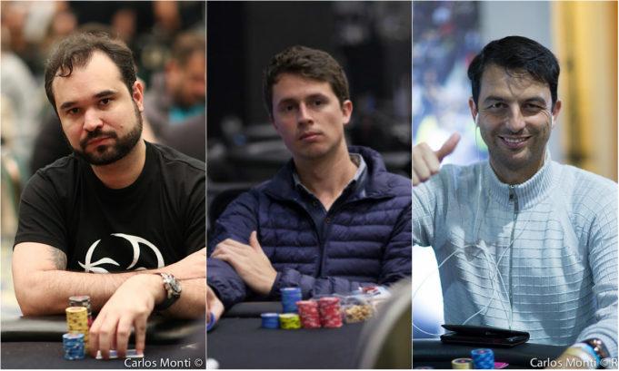Ariel Bahia, Bruno Volkmann e Enio Bozzano