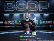 Anthony Barranqueiros campeão do Main Event do BSOP Rio Quente