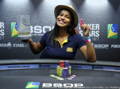 Daniele Feitosa campeã do Ladies Event do BSOP Rio Quente