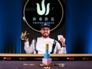 Bryn Kenney campeão do Evento #2 do Triton Super High Roller Series