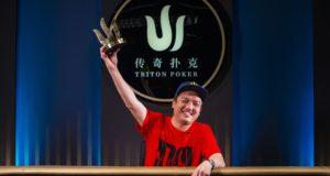 Hing Chow campeão do Pot-Limit Omaha da Triton SHR Series Montenegro