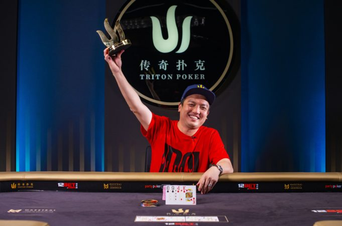 Hing Chow campeão do Pot-Limit Omaha da Triton SHR Series Montenegro
