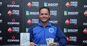 Gimisson Ribeiro campeão do 6-Handed do BSOP Rio Quente