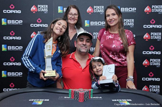 Marcelo Mesqueu do High Roller do BSOP Rio Quente