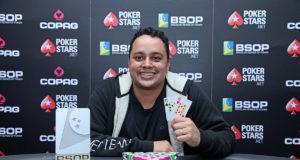Rafael Moreira campeão do Start Up do BSOP Rio Quente