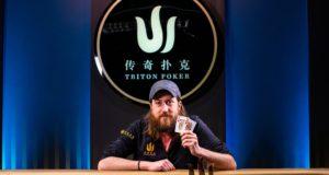 Steve O'Dwyer - Campeão Evento #1 - Triton SHR Montenegro