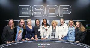 Mesa Final do Ladies Event do BSOP Rio Quente