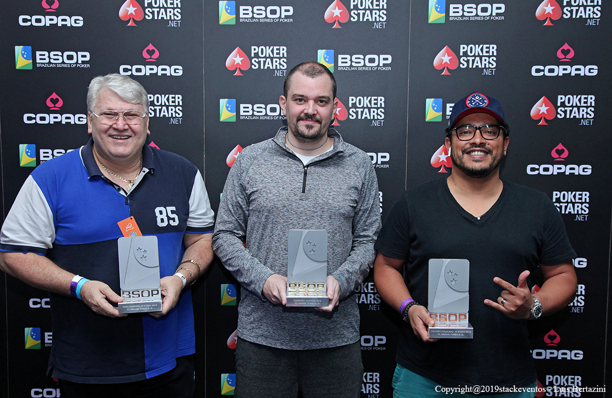 Finalistas do Pot-Limit Omaha Turbo Knockout do BSOP Rio Quente