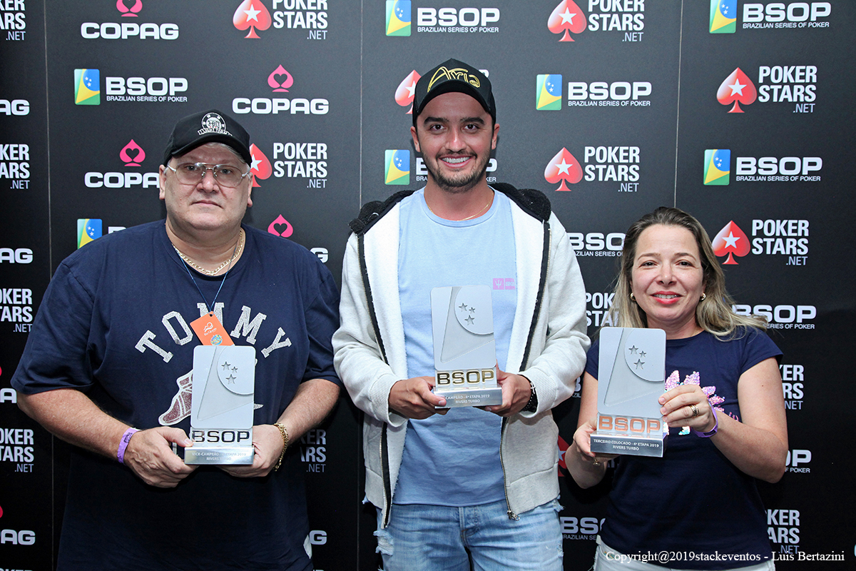 Finalistas do Rivers do BSOP Rio Quente