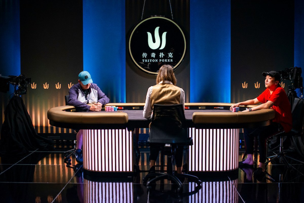 Heads-up do Pot-Limit Omaha da Triton SHR Series Montenegro