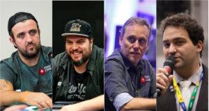 André Akkari, Victor Marques, Sérgio Prado e Devanir Campos