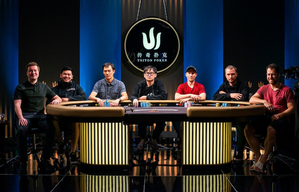 Mesa Final do Evento #6 da Triton Super High Roller Series